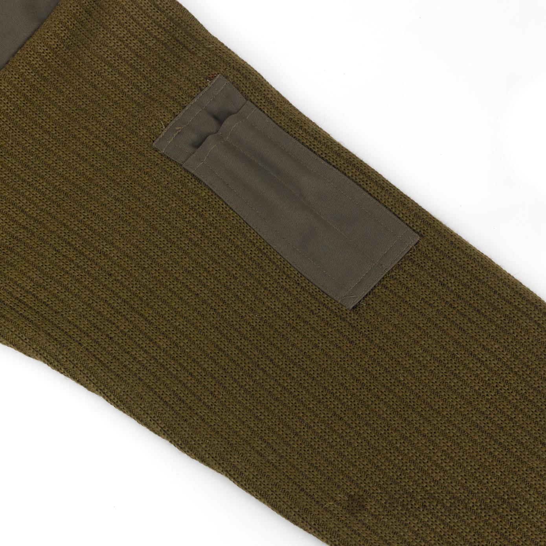 Original arm e pull over vert olive pull laine commando for Poignet de porte en anglais
